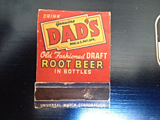 1940's Dads Root Beer Matches