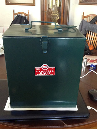 American Gas Machine Company Ice Box 1930, www.nostalgia-tymes.com