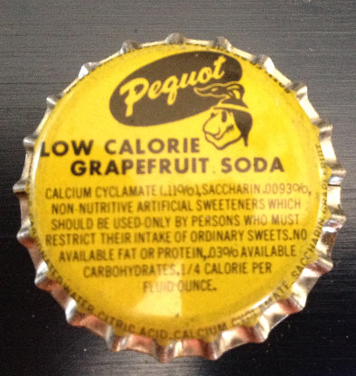 Pequot Grapefruit Soda Bottle Cap (Cork)