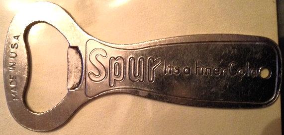 1950's Spur Bottle Opener