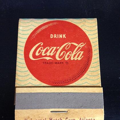 1950's Coca Cola Matches, Full Book