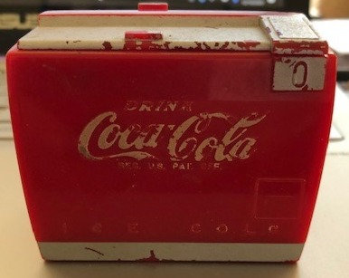 Coca-Cola Music Box 1950 works great
