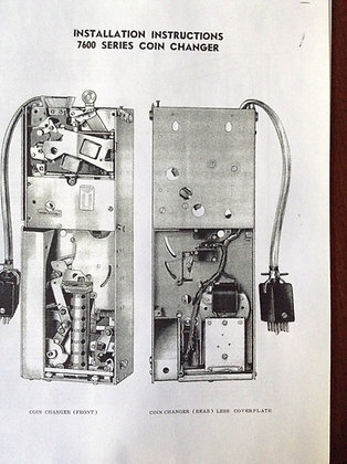 National Rejector 7600  7700 Series Manual  sent in PDF
