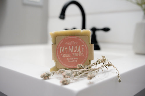 Thyme & Honey Herbal Soap