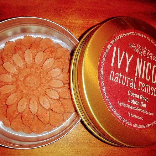 Cocoa Rose Lotion Bar