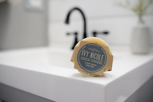 Lavender Oatmeal Herbal Soap