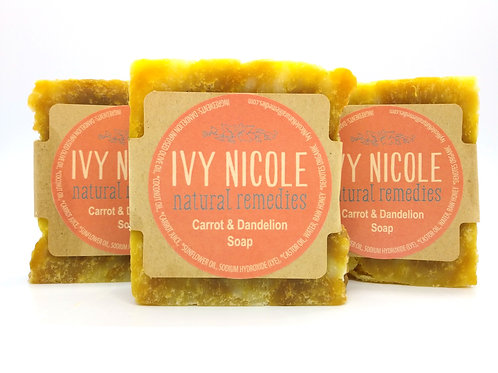 Carrot & Dandelion Soap