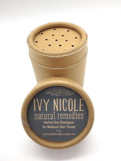 Herbal Dry Shampoo for Medium Hair Tones