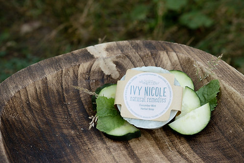 Cucumber Mint Herbal Soap