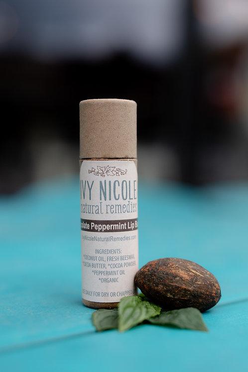 Chocolate Peppermint Lip Butter