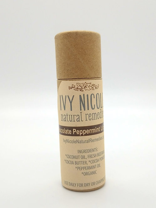 Chocolate Peppermint Lip Butter