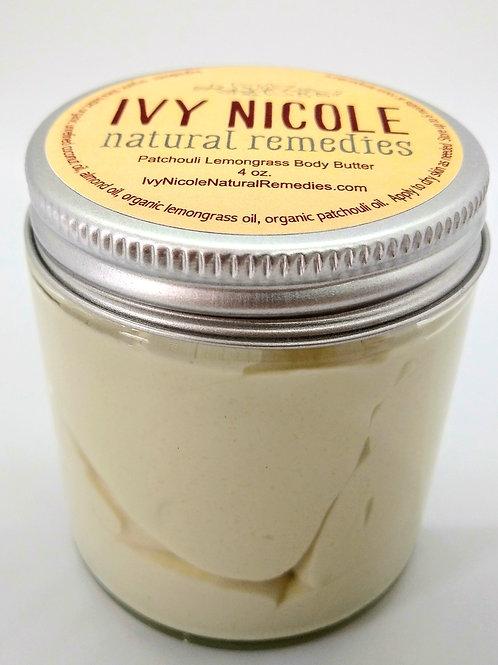 Patchouli Lemongrass Body Butter