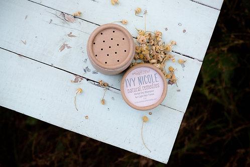 Herbal Dry Shampoo for Light Hair Tones