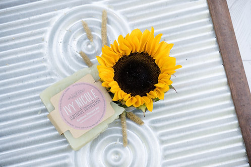 Sunflower Shampoo Bar