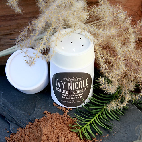 Herbal Dry Shampoo for Dark Hair Tones