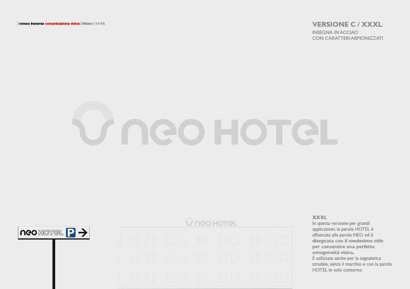 NEO HOTEL (2017) Brand Manual 10