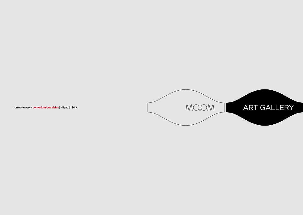 MO.OM ART GALLERY (2017) Il logo del progetto