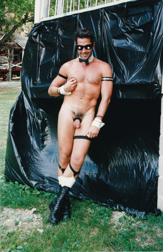 TRETierney as a Chippendale's Stripper at a 90's Gay Nudist Camp