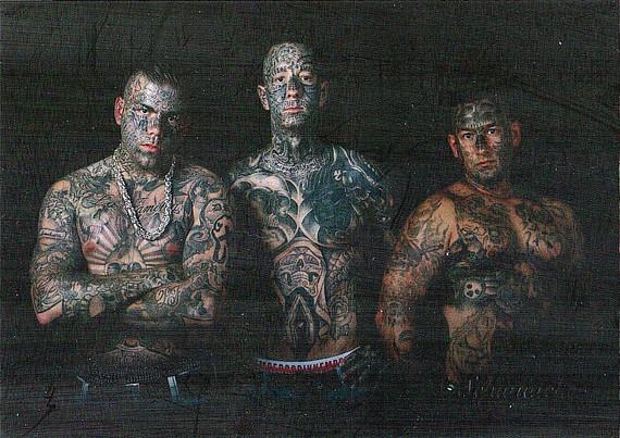 Daniel, Dennis & Marcel (Tattoo project)