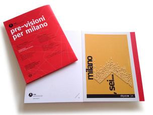 Pre-visioni per Milano, il catalogo