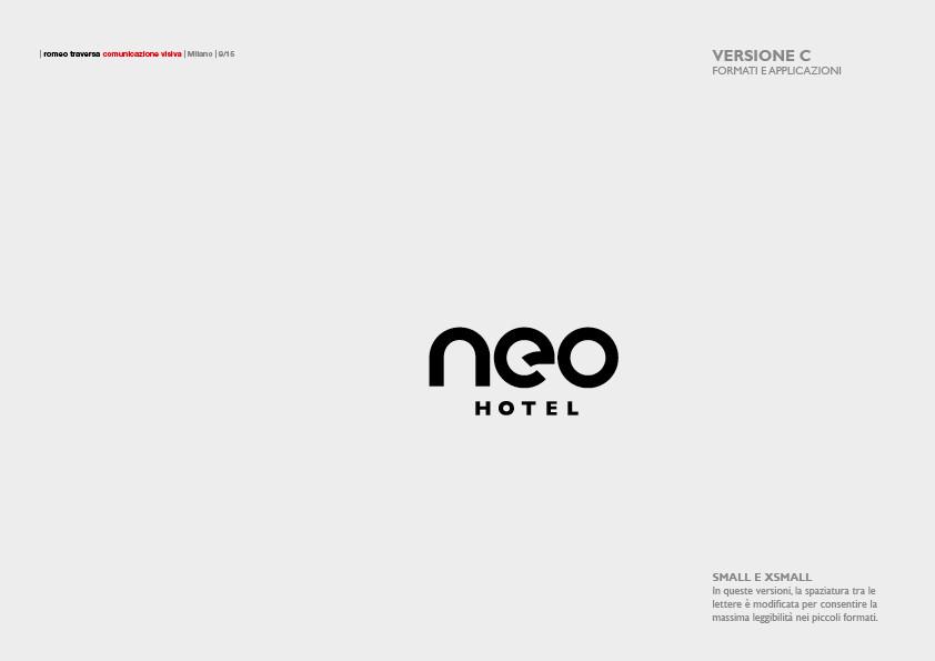 NEO HOTEL (2017) Brand Manual 8