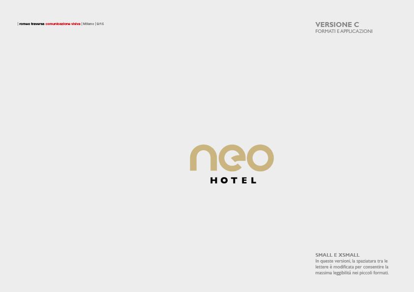 NEO HOTEL (2017) Brand Manual 7