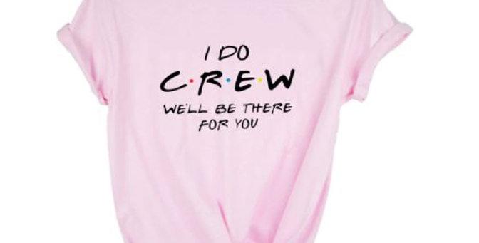 """Bachelorette In Vegas T-shirt """"I Do Crew"""""""