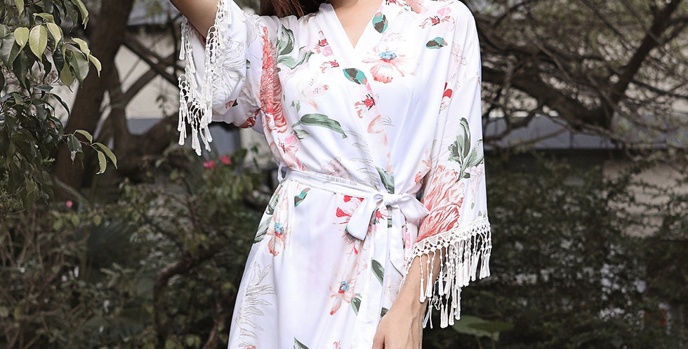 Bali Luxe Cotton Robe