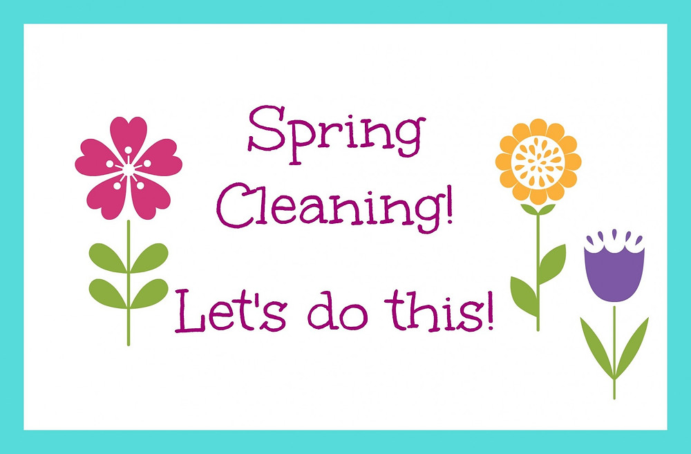 Spring Cleaning... Let's Do This!