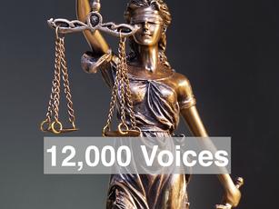 12,000 Voices Voter Registration Initiative