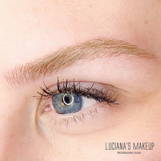 LuvBrows Microblading details