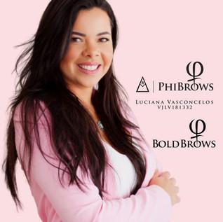 Luciana Vasconcelos Phibrows Royal Artist BoldBrows Artist
