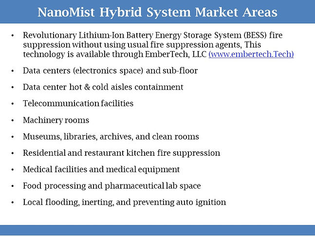 NanoMist-Hybrid System Market areas-simp