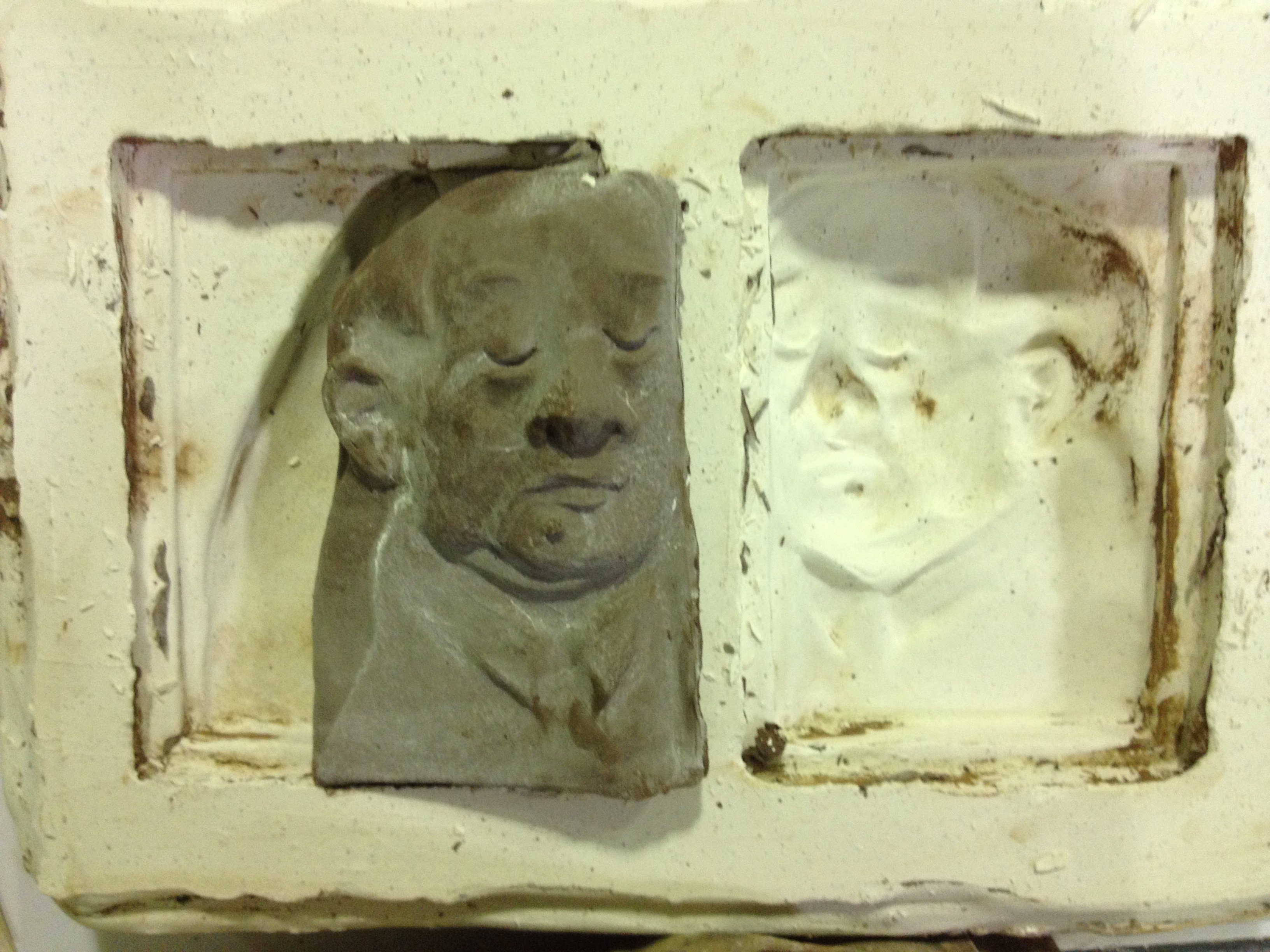 plaster mold for casting