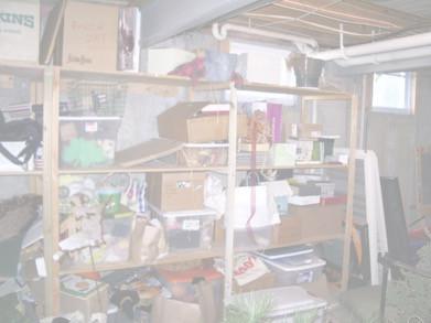 Basement Shelf (Before)
