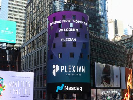 Plexian börsnoteras på Nasdaq First North Growth Market: