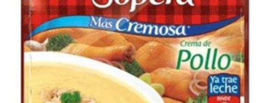 La Sopera Crema De Pollo Sobre 45g