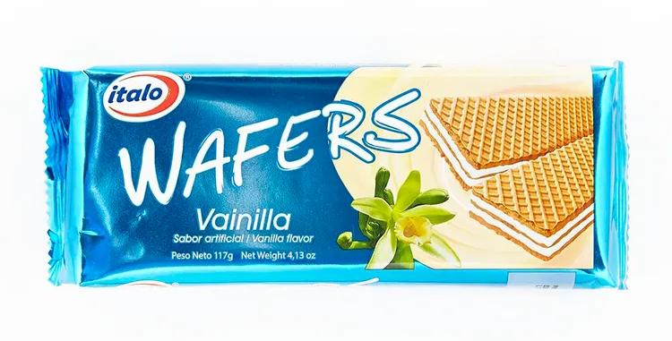 Galletas Wafers Vainilla Italo Pet 117G