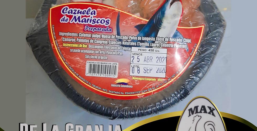 Cazuela De Mariscos 450g