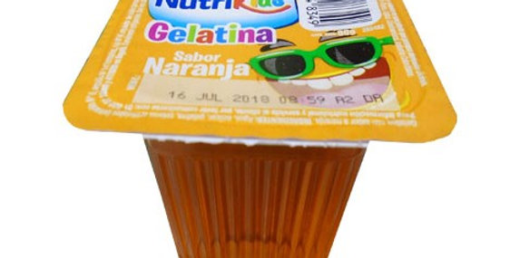 Gelatina Nutrikids Naranja
