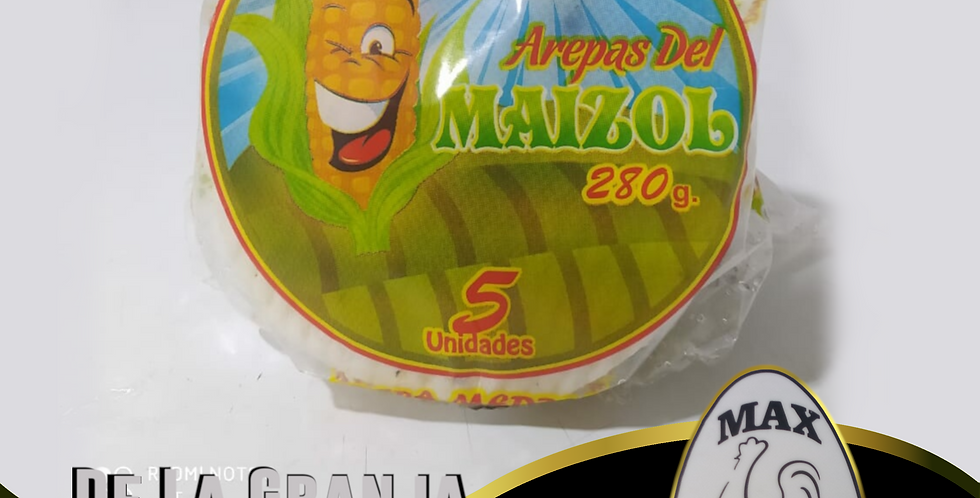 Arepas Del Maizol Blanca X5 280Gr