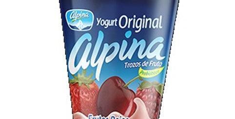 Yogurt Alpina Original Frutos Rojos Pet 150G