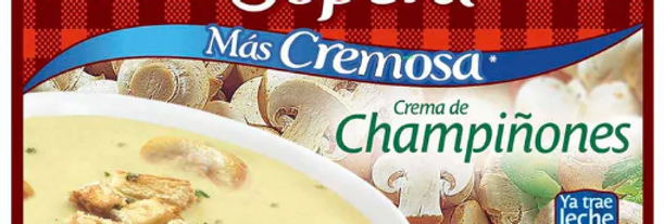 La Sopera Crema De Champiñones 85g