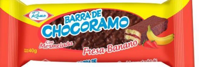 Barra De Chocorramo Fresa Banano Pet 40G
