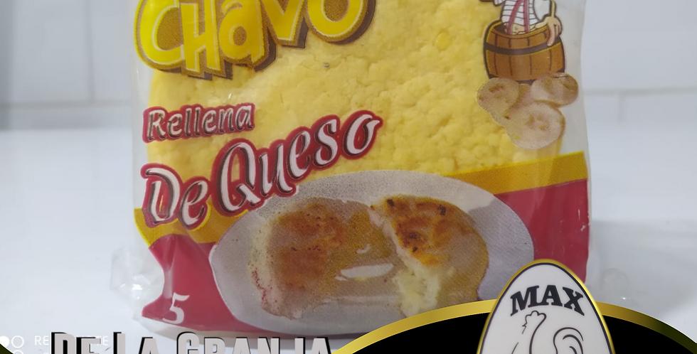 Arepa Rellena De Queso El Chavo 5Unidades 400Gr