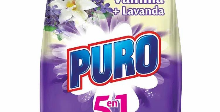 Detergente Puro 5 En 1 Vainilla 450G