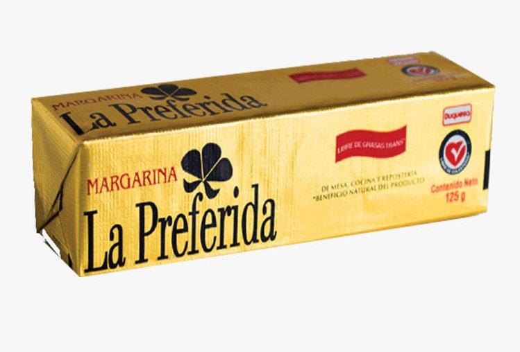 Margarina La Preferida Pet 125G