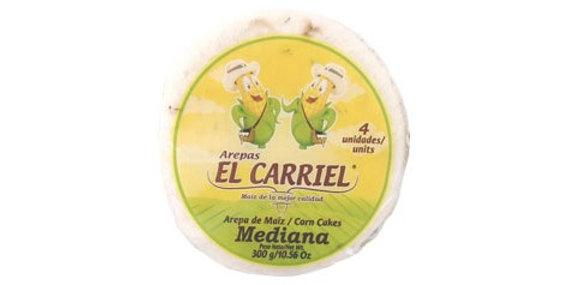 Arepa De Maiz El Carriel Mediana 300G