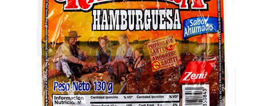 Carne De Hamburguesa Ranchera x2Und