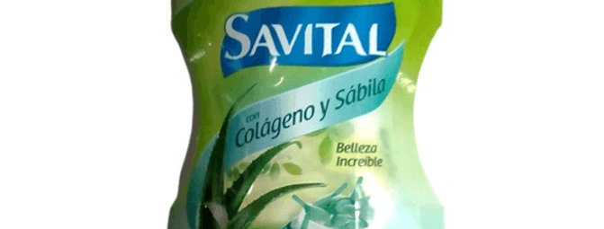 Crema de De Peinar Savital Colageno y Sabila